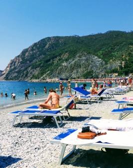 Beach in Monterosso