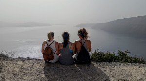 Hike from Thera to Oia