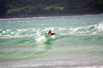 Surfing in Hanalei