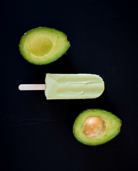 Avocado Popsicle