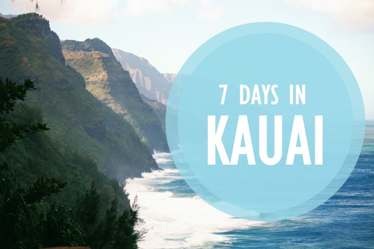 7 DAYS IN KAUAI