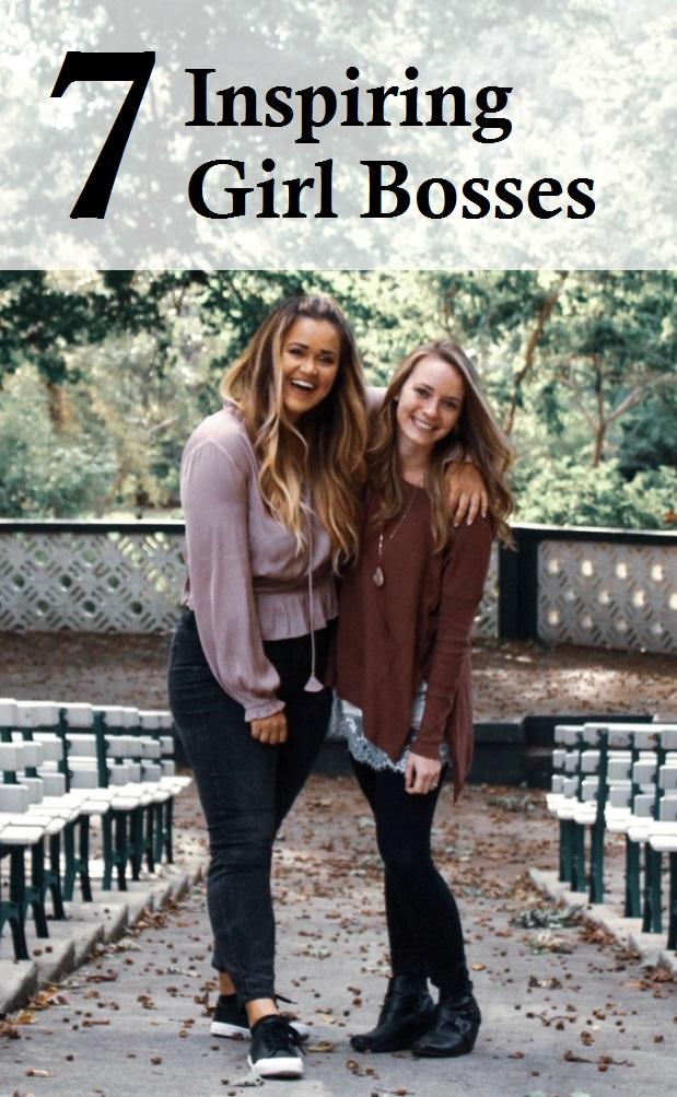 7 Inspiring Girl Bosses