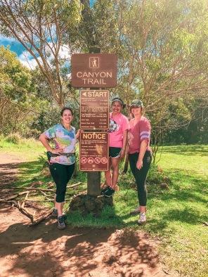 waimea canyon hike