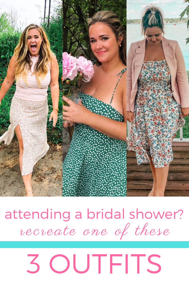 3 Outfits to Wear to a Bridal Shower