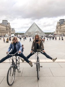 biking around Paris